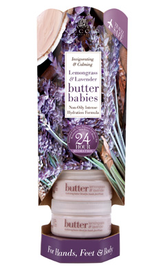 Butter Babies Mini Tower Lemongrass & Lavender